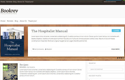 BookRev Lite - Free MultiPurpose WordPress Themes