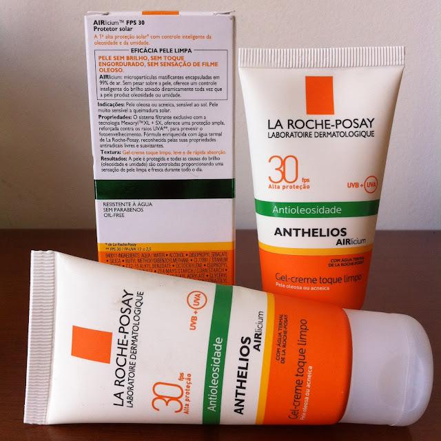 Protetor Solar Facial Antioleosidade Anthelios Airlicium FPS30 - La Roche-Posay