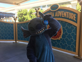 Stitch Disney California Adventure
