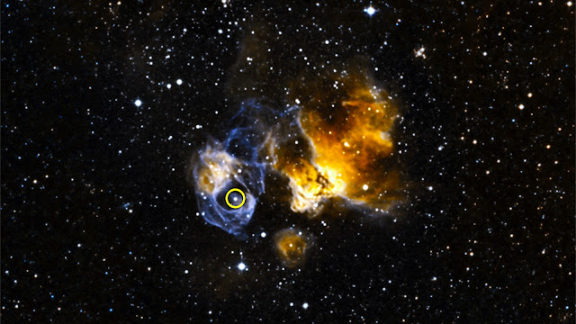 NASA's Fermi finds record-breaking binary in galaxy next door