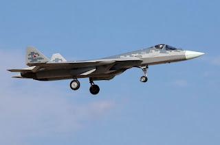 Jet Tempur Siluman Su-57
