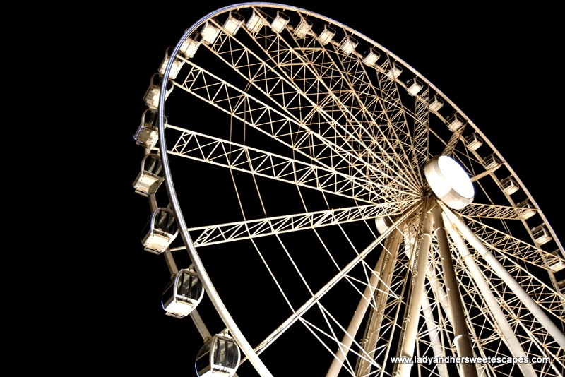 Eye of the Emirates wheel in Sharjah