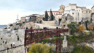 Patrimonio de la Humanidad en Europa y América del Norte. España. Ciudad histórica fortificada de Cuenca.