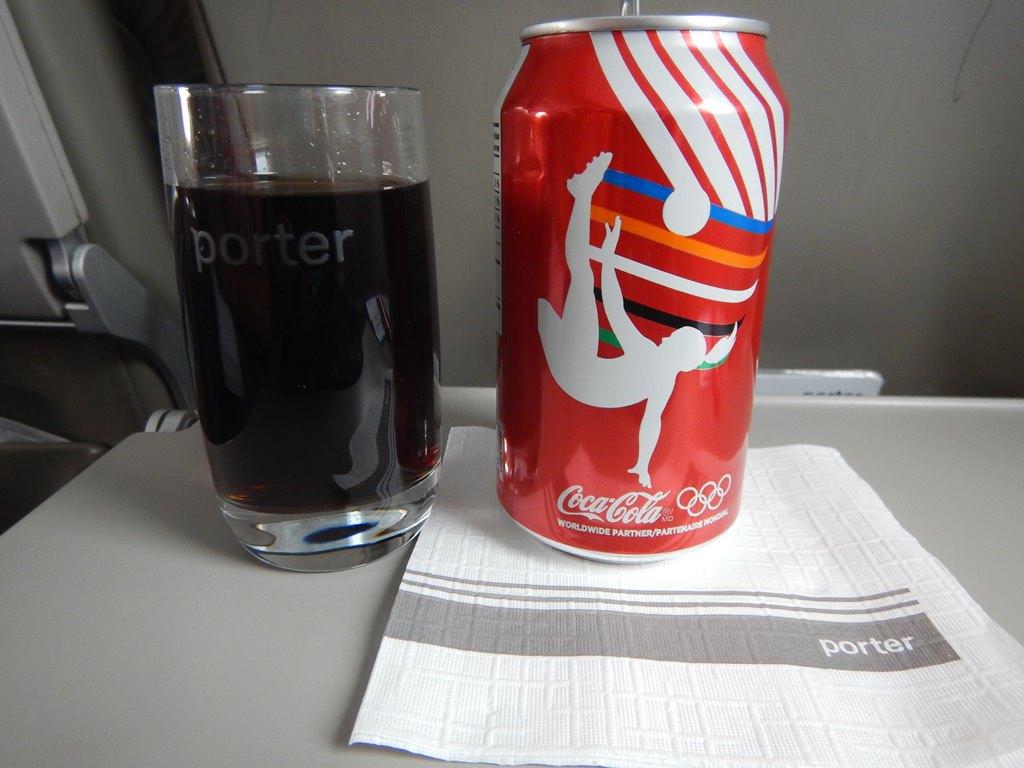 Como é voar de Porter Airlines