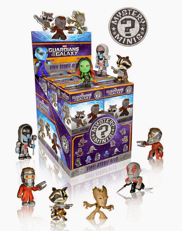Guardians of the Galaxy Mystery Minis Blind Box Series and Packaging by Funko