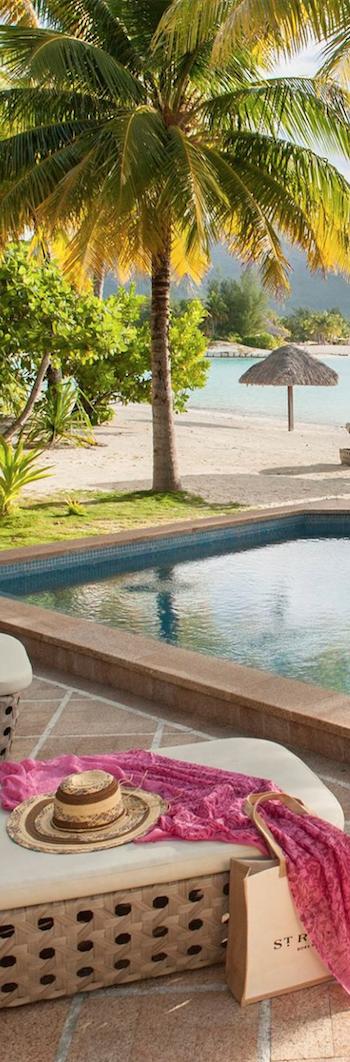 St. Regis Bora Bora Poolside