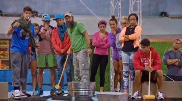 The Femme of Fandom: BB Eviction and HOH Night