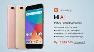 5 Fakta Tentang Smartphone Xiaomi Mi A1