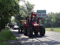 Старйк німецьких фермерів за регуляцію ціни молока
