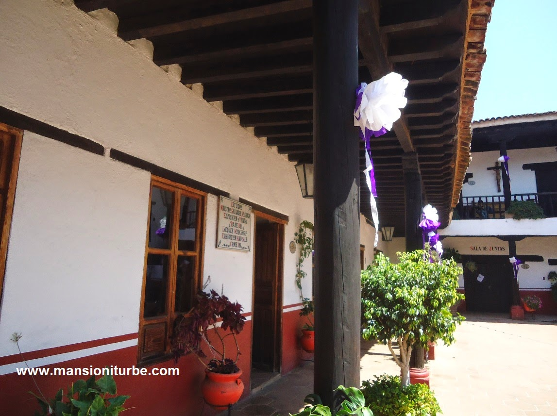House of the eleven patios in Patzcuaro