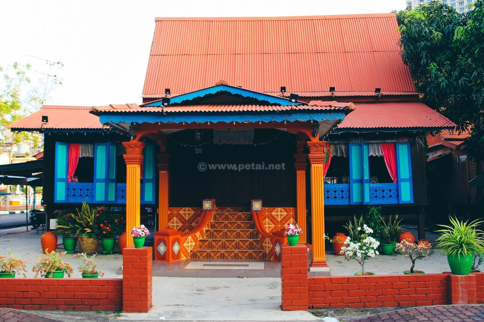 Rumah Melayu Melaka Kampung Morten 4