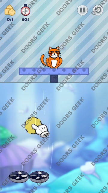 Hello Cats Level 186 Solution, Cheats, Walkthrough 3 Stars for Android and iOS