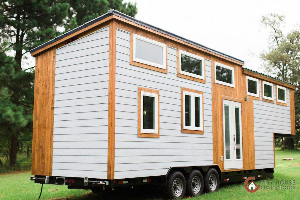 Tiny house town the lookout v3 from tiny house chattanooga for The lookout tiny house