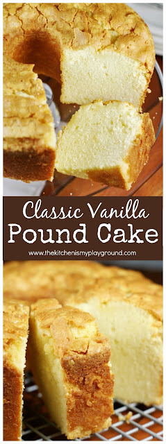 is the quintessential Southern dessert  How to Bake Classic Pound Cake - I did it!