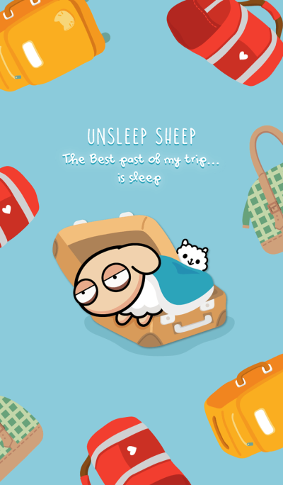 UNSLEEP SHEEP : Let's go travel !
