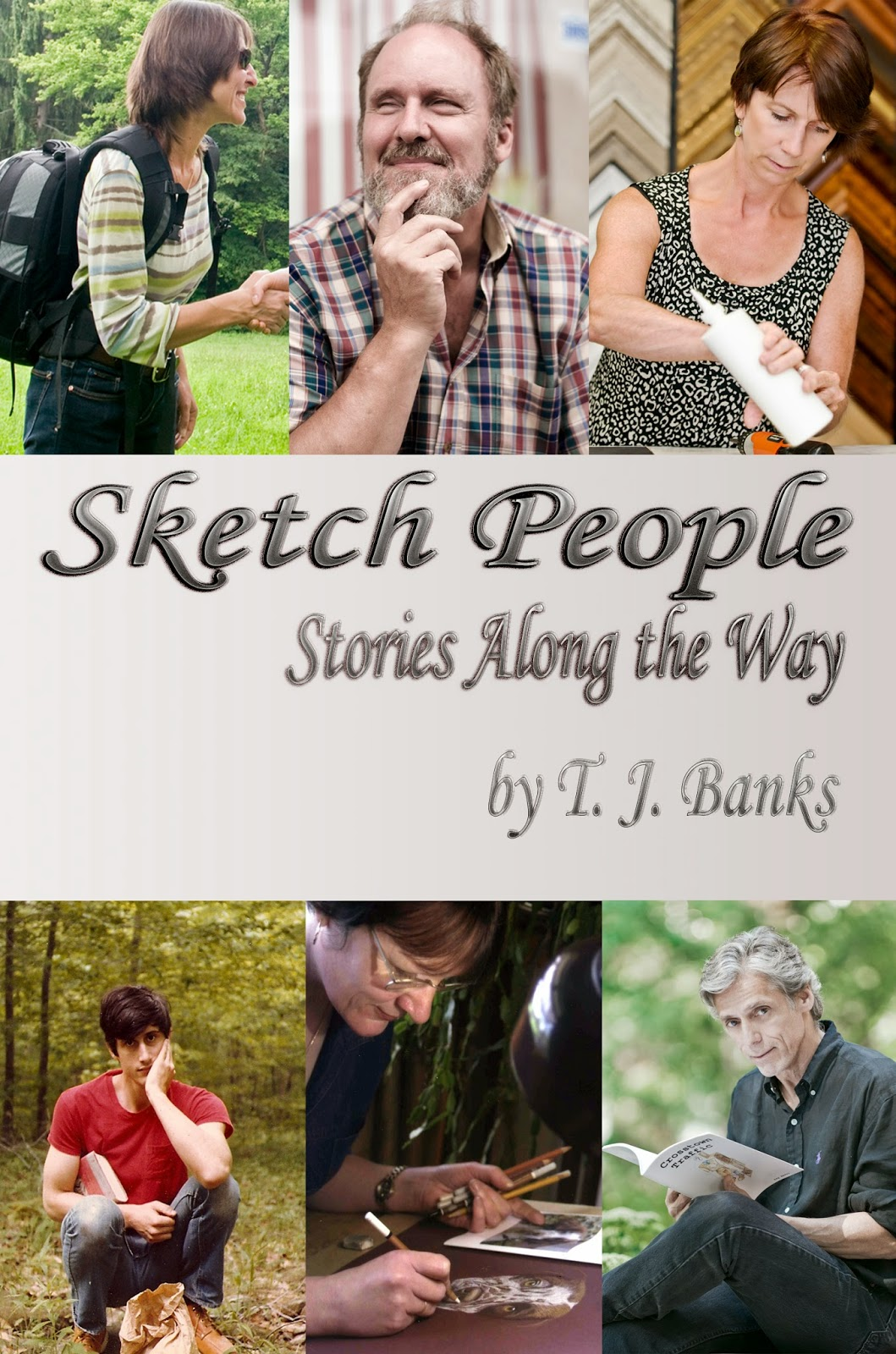 http://www.amazon.com/Sketch-People-Stories-Along-Way-ebook/dp/B0070CJFYI/ref=sr_1_1?ie=UTF8&qid=1395798521&sr=8-1&keywords=t.j.+banks+sketch+people