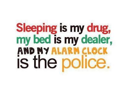 funny good night sleeping is my drug,