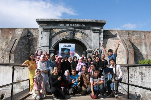 benteng marlborough blogger gathering bengkulu