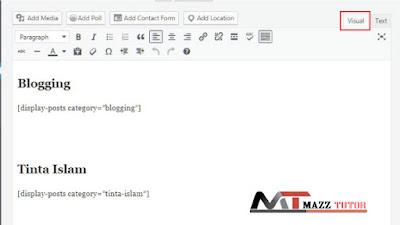 Membuat Sitemap Wordpress Dengan Mengunakan Shortcode [Data Post]