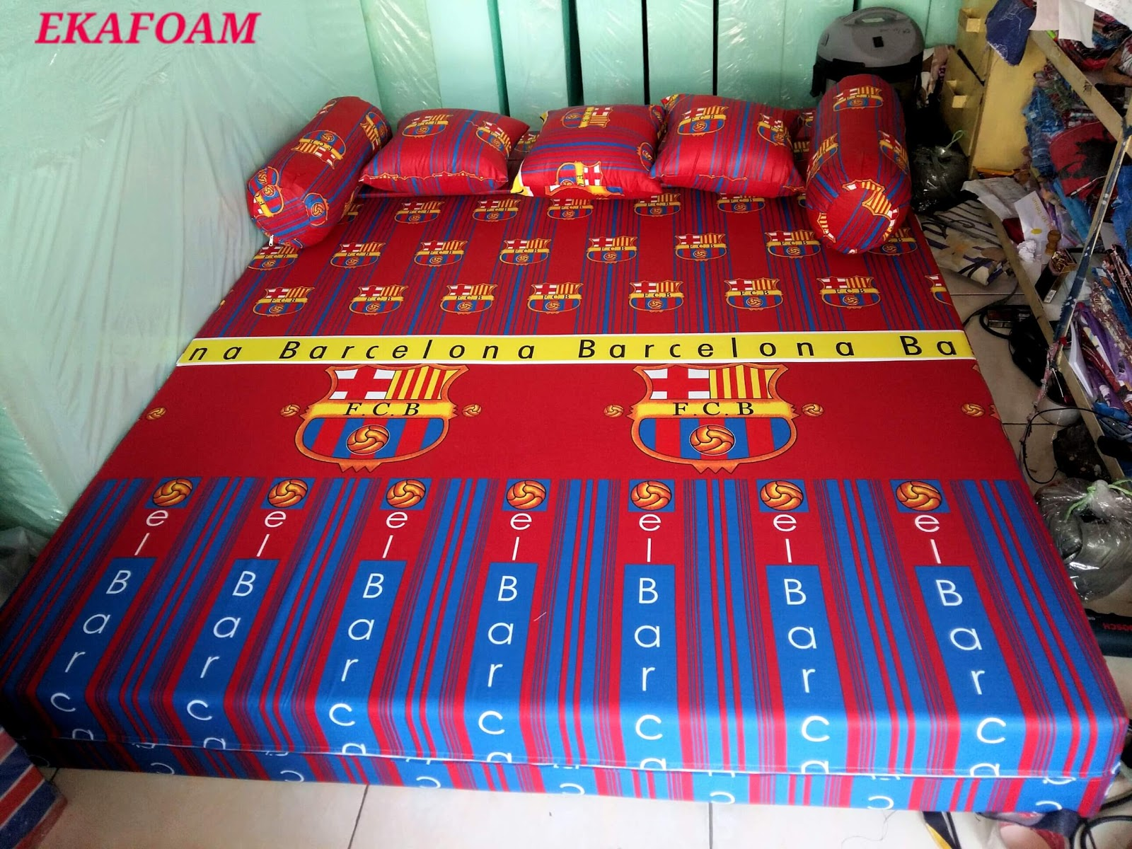 sofa bed inoac 3 in 1 100 inch slipcover 2017 full motif agen resmi kasur busa