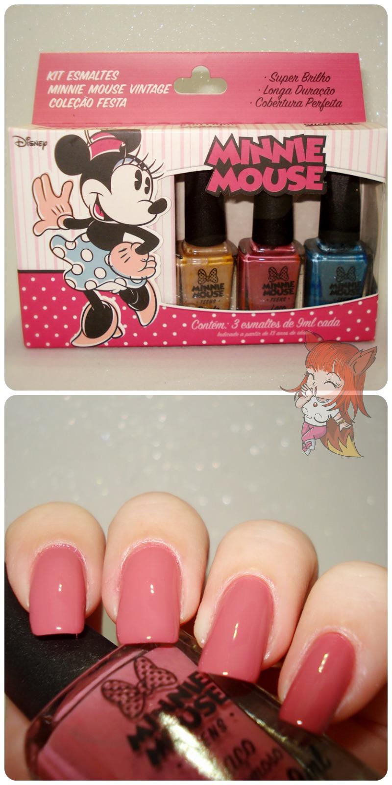 Esmalte Minnie Mouse :: Laço - Resenha