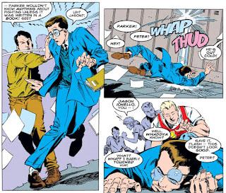 Peter Parker High School Fight