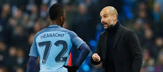 Guardiola and Iheanacho
