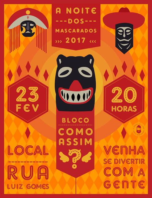 Carnaval 2017: Como Assim traz baile de máscaras no dia 23/02
