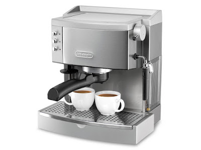 Coffee And Cappuccino Maker In One