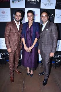 Pranav Khullar, Neha Dhupia and Varun Malhotra