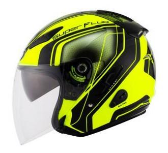 Harga Helm KYT Superfluo Yellow