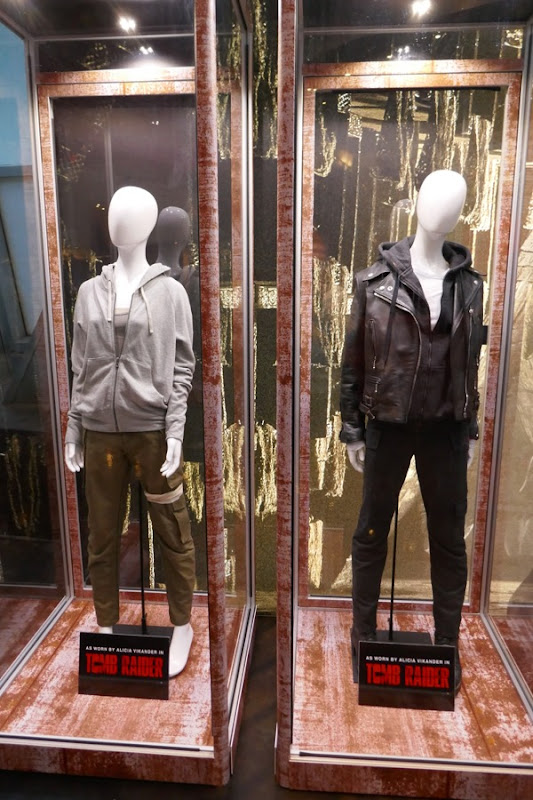 Alicia Vikander Tomb Raider film costumes