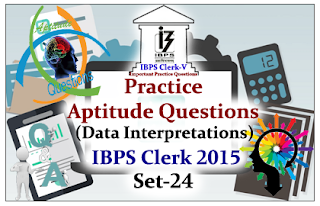 Race IBPS Clerk 2015- Practice Aptitude Questions (Data Interpretation