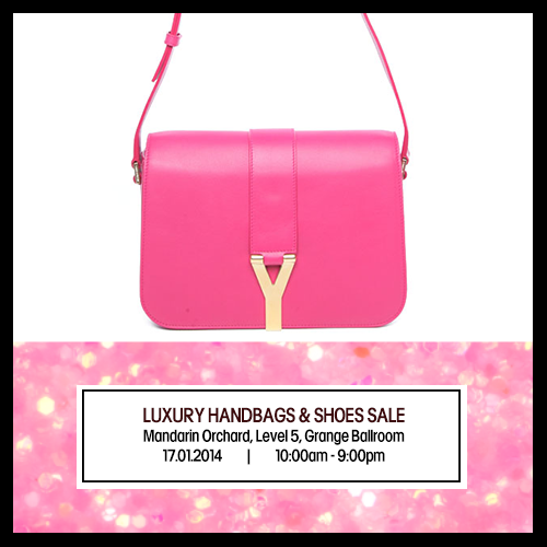 Brandsfever Luxury Handbags   Shoe SALE at Mandarin Orchard Singapore  Jan  17 2014 4e830e862110f