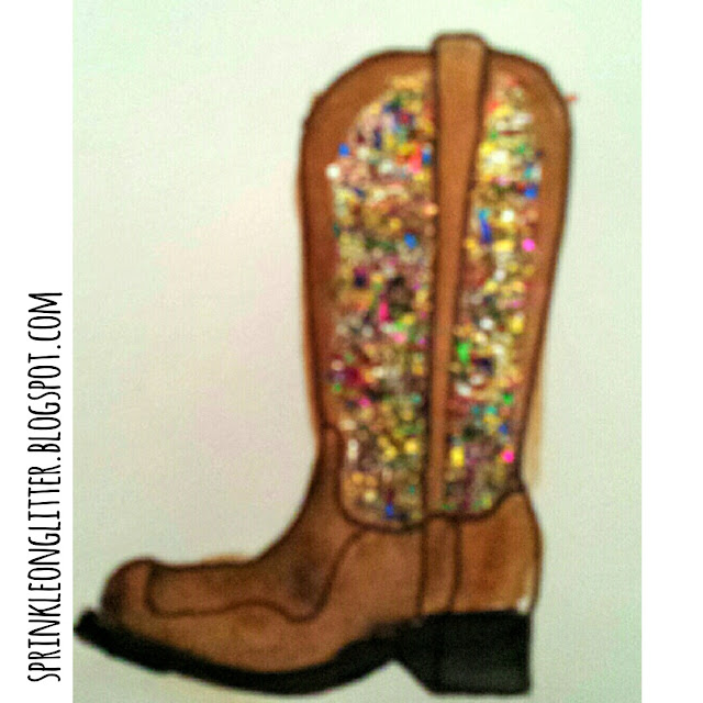 Sprinkle on Glitter Blog//cowboy boots