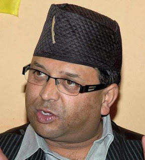 GTA Sabhasad and education department executive Roshan Giri