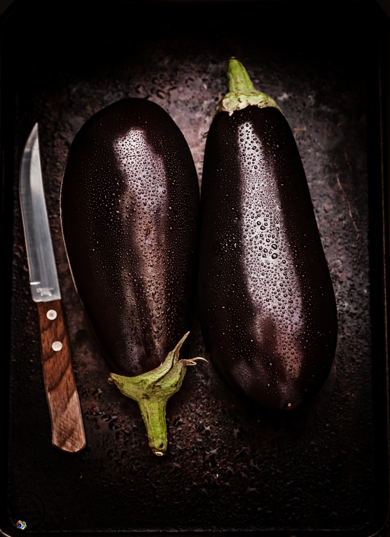 fresh aubergine dark and moody