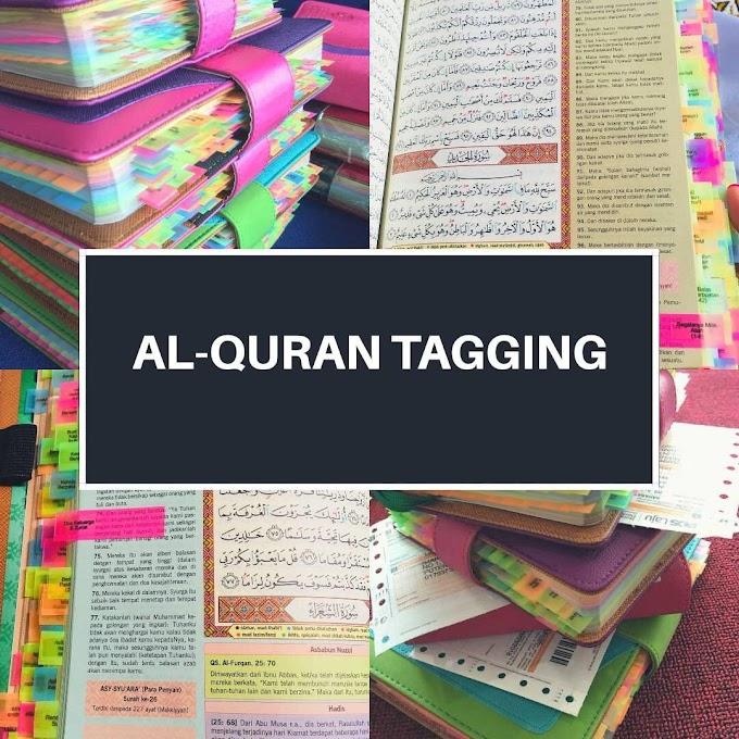 Al Quran Tagging - Al Quran Tajwid Berwarna dengan Terjemahan Siap Tagging Untuk Tadabbur Harian Anda