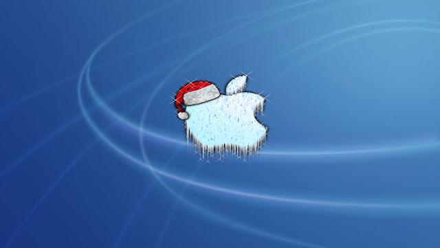 Free Download Merry Christmas Apple