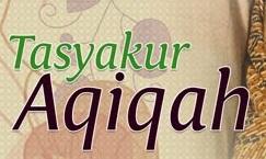 tasyakur aqiqah