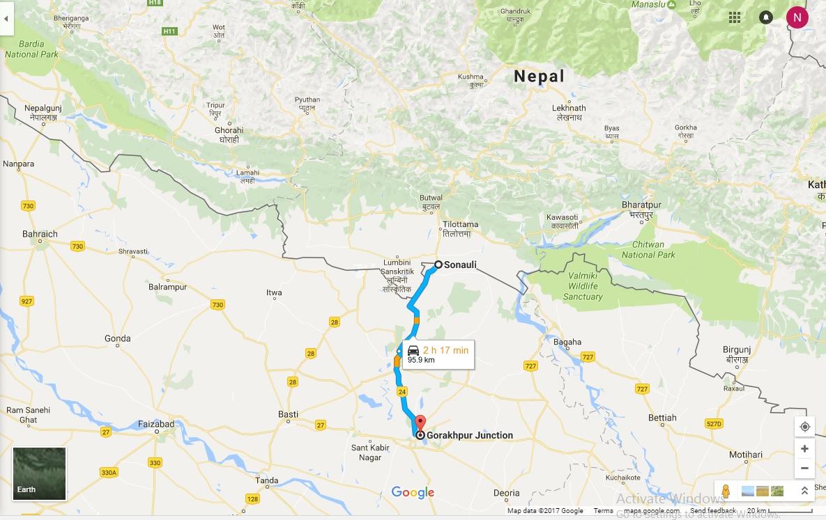Diary Menggapai Himalaya 31 : Perjalanan Gorakhpur