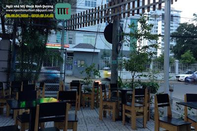 thiết kế thi công quán cafe bình dương, cafe poly, sửa chữa quán cafe bình dương, cải thiện quán cafe bình dương,