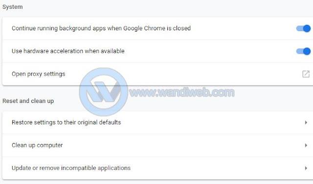 Mengatasi Google Chrome Error Not Responding atau Crash dengan Mudah - WandiWeb