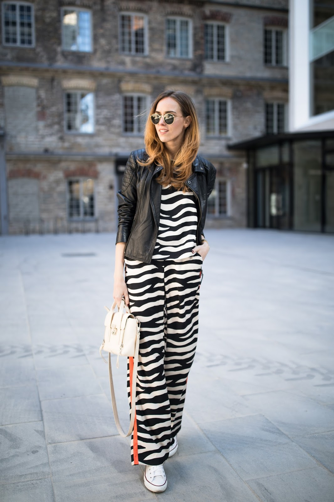 pyjama trend street style