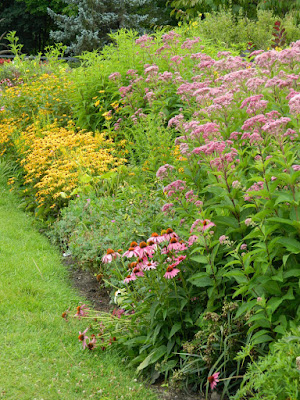 Late summer perennial border at Toronto Botanical Garden by garden muses-not another Toronto gardening blog