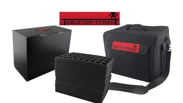 Tabletop Tyrant: Kickstarter Army Cases