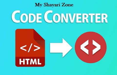 Adsense Code Converter | HTML Encoder Tool | HTML to XML Parser