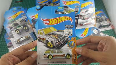 Hot Wheels Zamac Edition 71 Datsun Bluebird 510 Wagon