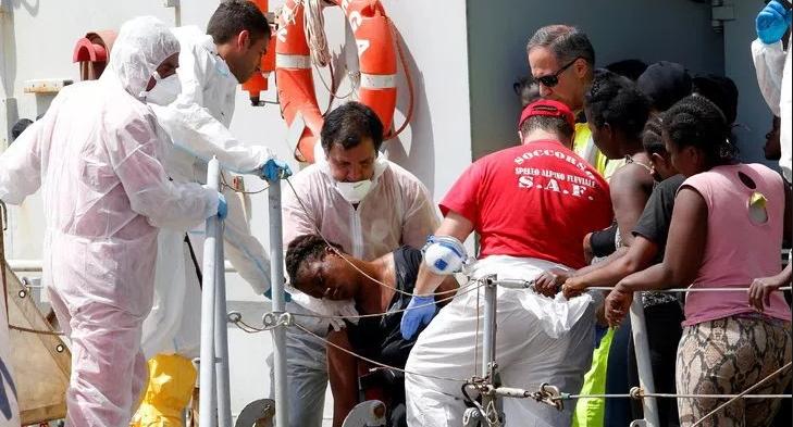 26 nigerians killed sea drowned