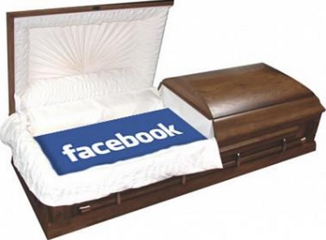 death announcement on facebook